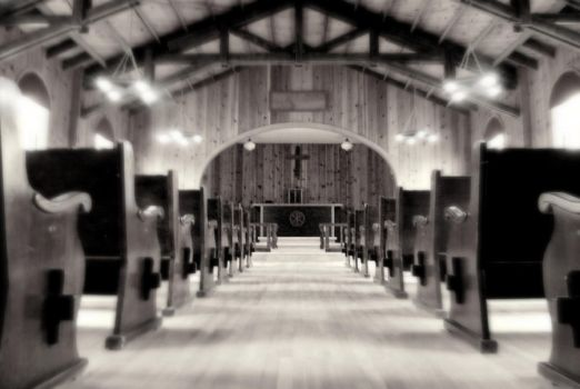 Pacing The Pews In a Church by Wigapig