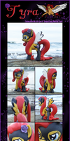 Tyra MLP Custom by Crimson-Mane