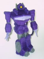 Needle-Felted Shockwave by GlassCamel