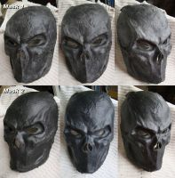 Rigid Latex Masks by Uratz-Studios