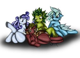The Four Elementals Pone by Suirano
