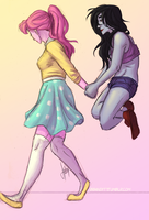 Bubbline Walk by blindbandit5