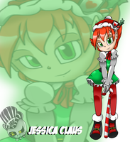 Jessica Claus by TheOctoberScarf