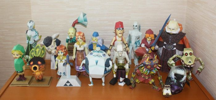 Papercraft Collection IX by Avrin-ART