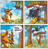 Fox and the crow 68 by Garri69