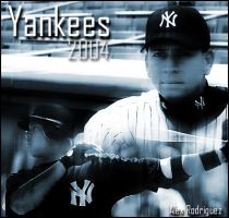Alex Rodriguez by EvilGraphics