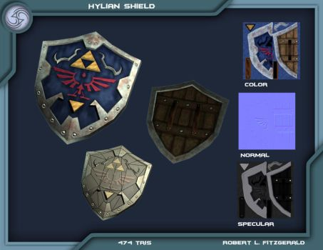 Hylian Shield OoT V. 1.0 by Robemon3689