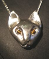 Cat Pendant by chill13