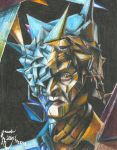 Syfy's Face Offs Living Art Cubism by pink12301