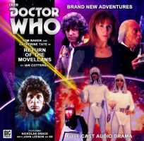 Return of the Movellans - Big Finish Cover by Cotterill23