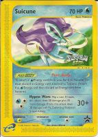 Suicune Card (so u beleive me) by Silverfang98
