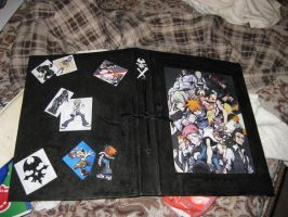 TWEWY Binder by Zimberdum