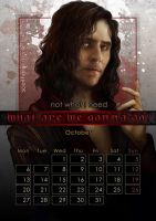 Geek Calendar 2014: October by Sceith-A