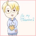 Be my Valentine? *APH-America* by MischievousRibbon