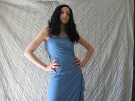 Blue Dress 10 by aceoni-koronue-stock