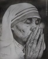 Mother Teresa by keofome