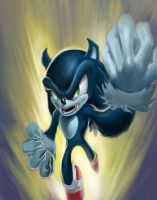 Sonic the Werehog by SketchMonster1