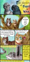 Two red cats - Strip 23 - Pigeons (part 1) by FuriarossaAndMimma