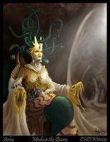 Medusa the queen by Arbu