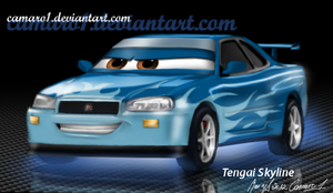 Tengai - airbrushing by camaro1