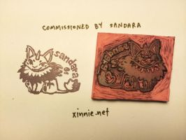 Handmade Stamp by sandara