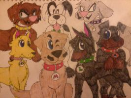 Super Mario Dogs by MC-Ash-Tray