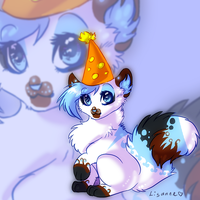 Happy Late Birthday Luney O3O by Lisannexx