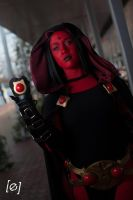 Demon's Eyes - Raven Cosplay by Soylent-cosplay