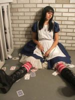 Passed out Alice by thealicemalice