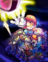 SSB4-Final Smash by Mikoto-chan