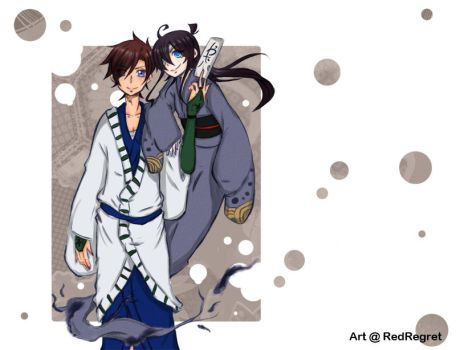 KaiShin- The Onmyouji and the Youkai by RedRegret