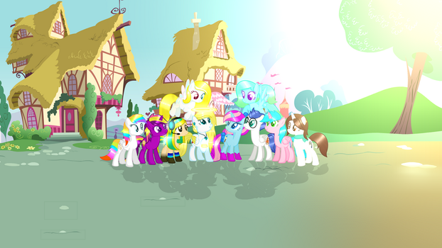 Me and all my friends |banner by AngelLightYT