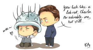 Cherik w Cerebro by kasumivy