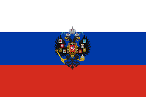 Flag of the New Russian empire by ShitAllOverHumanity