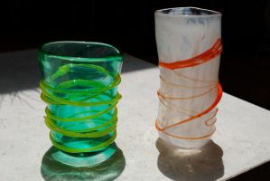 Glass Cups by zlyoga