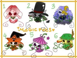 Adoptables: Magical Pets Series CLOSED by OchaHolique