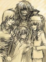 Alucard of four people by meso-moq