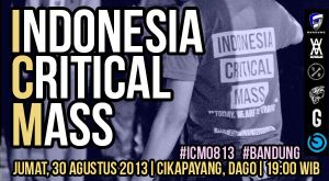 Indonesia Critical Mass 2013 by taufiqmuhammad