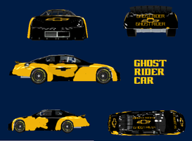 GHOST RIDER IN NASCAR by brony4all
