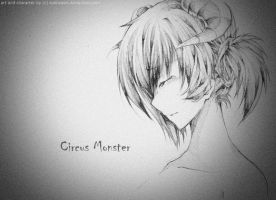 UTAU - Circus Monster by sonnyaws