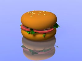 BIG BURGER YAY by vozzz