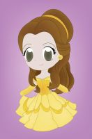My Chibi Belle by PetiteTangerine