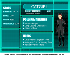 Catgirl Young Justice by ArtistLucy