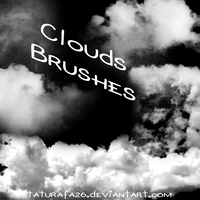Clouds Brushes by TATURAFA-26