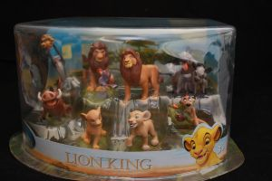 The Lion King figure set by Takadk