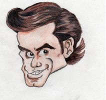 Jim Carrey Caricature by okwerds