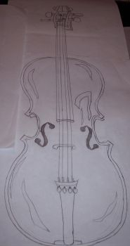 Cello by PsychoJailBird