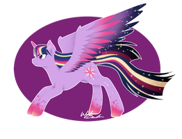 Rainbow Power - Twilight Sparkle by FuyusFox