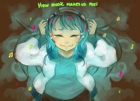 How music make us feel by Prodigymysoul