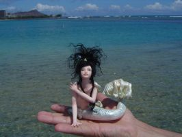 Mermaid Sea Siren Size by LindaJaneThomas